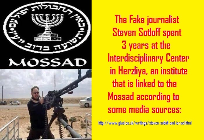 The Fake journalist Steven Sotlof