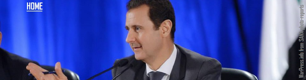 "President al-Assad speech at al-Baath Arab Socialist Party meeting in Tartous: ""Daesh (ISIS) came to cap accumulating wrong-headed policies by parties of countries hostile to Syria…Any international effort should serve to bolster reconciliations and pressure the countries backing terrorists with funds and arms to cease their support"" ~ (Reports in Eng/Fra/Esp/Ita)"