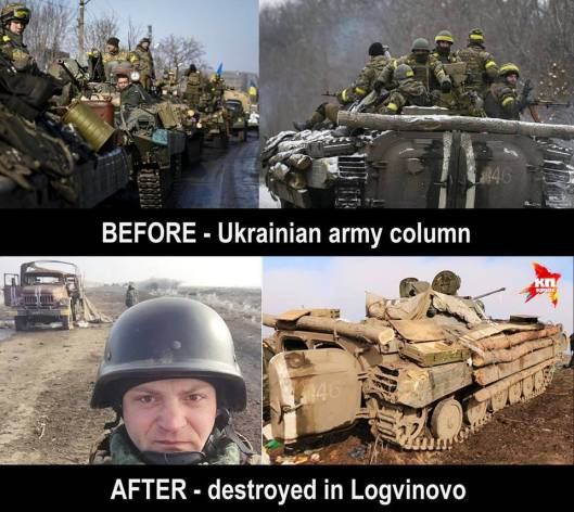 If Kiev is looking for trouble, in Donbass has found them