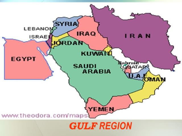 Arabian Gulf region