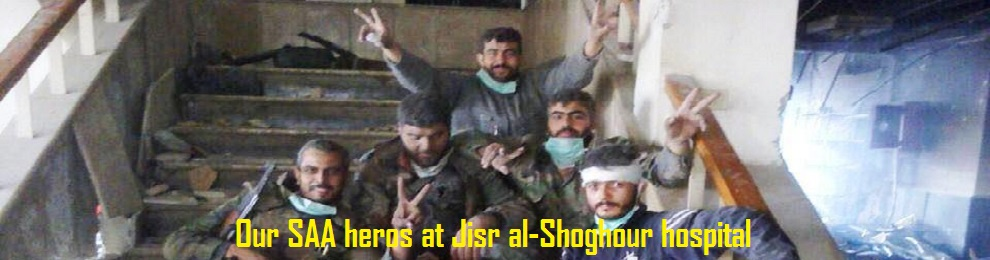 Video-news about the liberation of Syrian soldiers from the hospital of Jisr al-Shughour  (Eng/Fra)