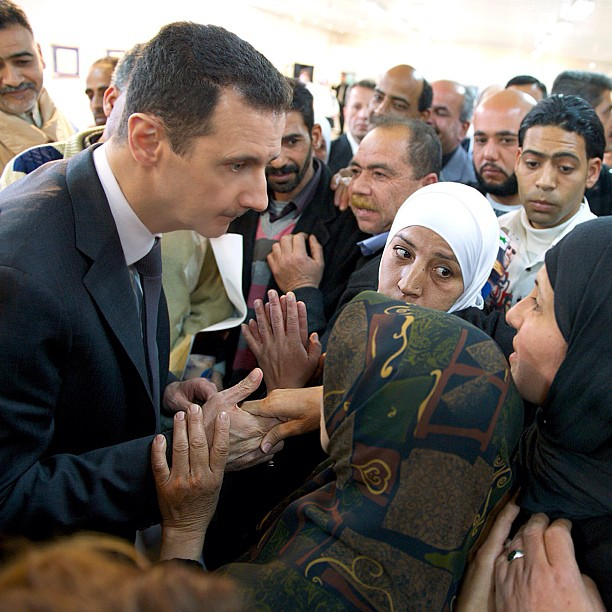 President Assad's Full Speech With Iranian TV  ~ by Leith Fadel