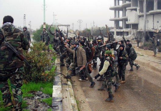 Syrian Arab Army heroic soldiers